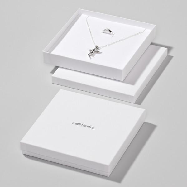 Boîte en carton 158 x 158 x 25 mm