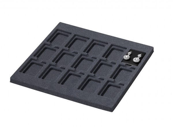 moulded tray for cartridges